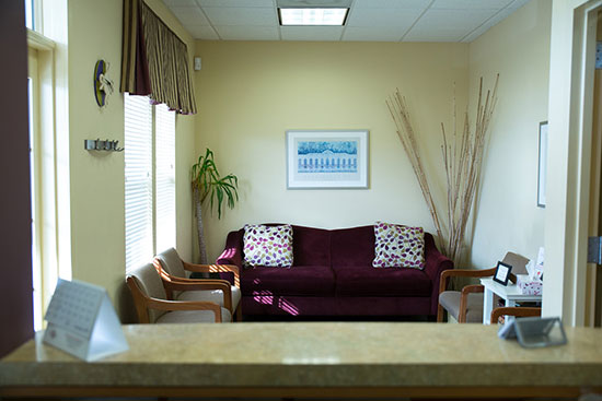 Park Center Family Dentistry Office